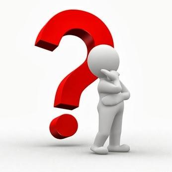 Un bonhomme blanc (le client) se trouve devant un gros point d'interrogation. Il a visiblement besoin de conseils, pour ne pas dire de conseils web.